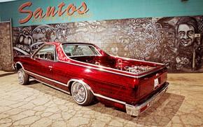 Картинка Chevrolet, Lowrider, Pickup, El Camino, Modified
