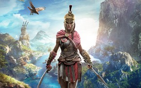 Картинка Girl, Game, Assassin's Creed, Odyssey
