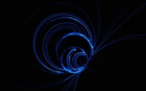 Картинка свет, круг, кольцо, трассы