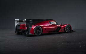 Картинка Mazda, Диски, Sports car, 2017, Спортпрототип, 24 Hours of Daytona, Mazda RT24-P, Гонка на выносливость