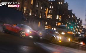 Картинка Porsche, Microsoft, Pagani, game, 2018, Huayra, Forza Horizon 4
