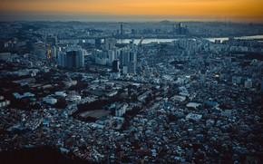 Картинка город, панорама, Сеул