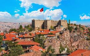 Картинка turkey, capital, ankara, Ankara Castle