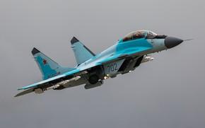 Картинка ВВС России, многофункциональный, МиГ-35, лёгкий истребитель