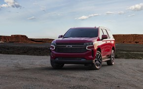 Картинка Chevrolet, спереди, SUV, Tahoe, 2020
