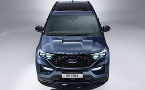 Картинка Ford, Explorer, Plug-In Hybrid, 2019, ST-Line