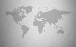 Картинка земля, царапины, карта мира, материк