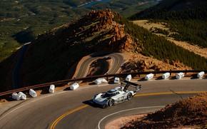 Картинка горы, трасса, Volkswagen, прототип, prototype, 2019, I.D. R