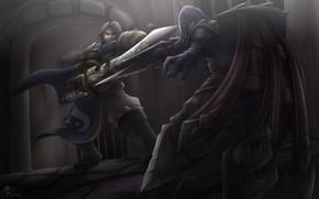 Картинка рыцари, League of Legends, Лига Легенд