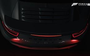 Картинка HDR, 911, Porsche, Game, Brake, Backlight, Turbo S, Porsche 911 Turbo S, FM7, UHD, Forza …
