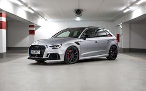 Картинка Sportback, Silver, Audi RS3