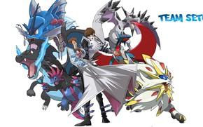 Картинка парень, Покемон, Pokemon, Покемоны