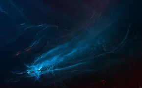 Картинка Звезды, Космос, Туманность, Fantasy, Арт, Stars, Space, Art, Фантастика, Nebula, StarkitecktDesigns, by StarkitecktDesigns, Scorpion Nebula