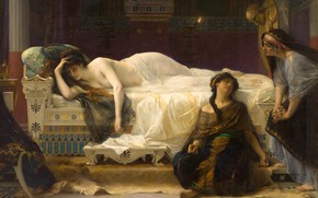 Картинка картина, Александр Кабанель, Alexandre Cabanel, мифология, Федра