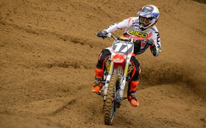 Картинка Race, Motocross, Dirt Bike