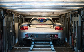 Картинка Автомобиль, Суперкар, Porsche Carrera GT, Задок
