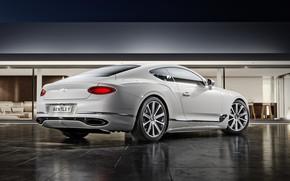 Картинка Bentley, Continental, Белый, Машина, Автомобиль, Automotive, Bentley Continental GT, Architecture, Белый цвет, Transport & Vehicles, …