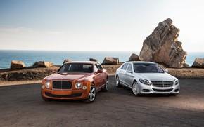 Картинка Bentley, Maybach, Luxury, W222, Mulsanne