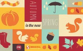 Картинка обои, постер, autumn the new spring, осень новая весна