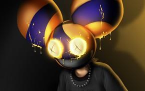 Картинка диджей, Deadmau5, EDM, DJ, fan artwork