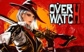 Картинка девушка, охотник, Overwatch