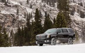Картинка в горах, 2018, GMC, SUV, Denali, Yukon