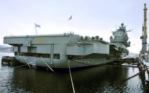 Картинка крейсер, тяжелый, авианесущий, адмирал кузнецов