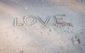Картинка песок, пляж, лето, любовь, summer, love, beach, sea, romantic, sand