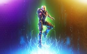Картинка фон, цвет, воин, шлем, Halo, броня
