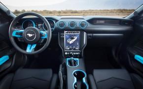 Картинка Concept, Mustang, Ford, салон, Lithium, 2019, SEMA 2019