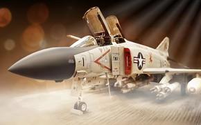 Картинка фон, модель, самолёт