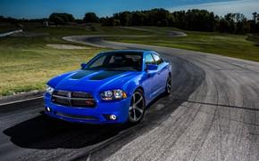 Картинка Blue, Dodge Charger, Vehicle