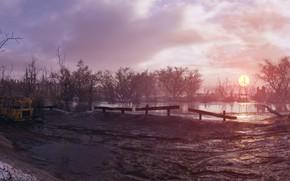 Картинка пейзаж, игра, Metro: Exodus