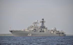 Картинка БПК, Северный Флот, проект 1155, Вице Адмирал Кулаков