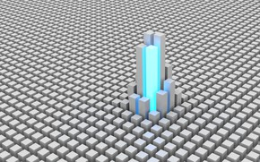 Картинка кубики, текстура, 3д графика