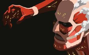 Картинка арт, титан, атака титанов, Shingeki no Kyojin