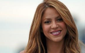 Картинка взгляд, поза, портрет, певица, музыкант, Shakira, Шакира, композитор, hair, танцовщица
