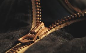 Картинка макро, фон, Zipper
