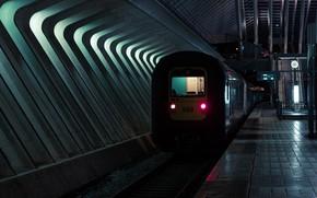 Картинка метро, поезд, подземка