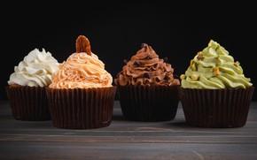 Картинка крем, десерт, пирожные