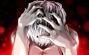 Картинка руки, Tokyo Ghoul, Токийский Гуль, Канеки Кен