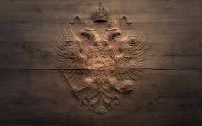 Картинка дерево, герб, россия