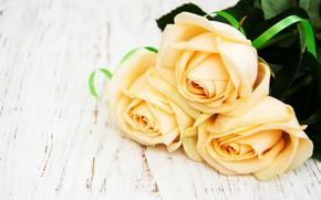 Картинка стол, розы, букет, wood, Olena Rudo