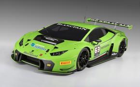 Картинка Lamborghini, GT3, Sports car, 2015, Huracan, Lamborghini Huracan GT3