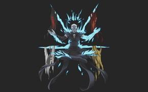 Картинка флаги, art, Game of Thrones, Игра престолов, Таргариены, мертвец, Баратеоны, Старки, король ночи, Ланистеры