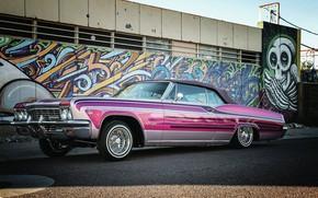 Картинка Chevrolet, Impala SS, Lowrider, Convertible