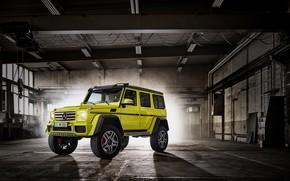 Картинка Concept, Mercedes-Benz, гараж, мерседес, брабус, 4x4, амг, бенц, W463, 2015, G 500