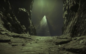 Картинка pyramid, destiny 2, shadowkeep