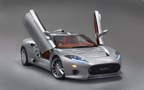 Картинка авто, суперкар, супер, Aileron, Spyker, C8