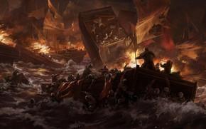Картинка Китай, Stanton Feng, Тотальная война: Троецарствие, Total War: Three Kingdoms, Red Cliff